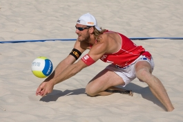 Coupe du monde de beach volley Gstaad 2008